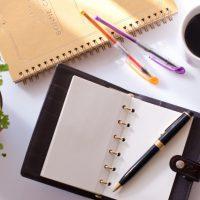 ノートと手帳の図
