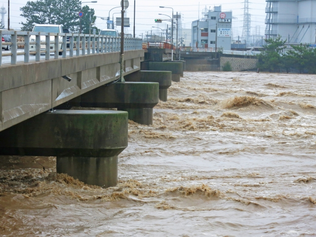 水害の写真